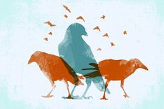 mck247 #screen #print #birds