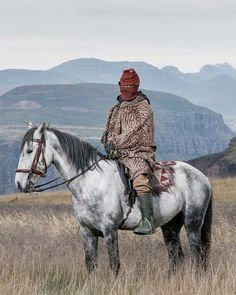 The Horsemen Of Semonkong: Portrait Photography by Thom Pierce