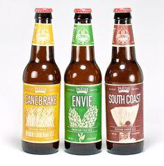 Parish Brewing Bottles #packaging #beer #label #bottle
