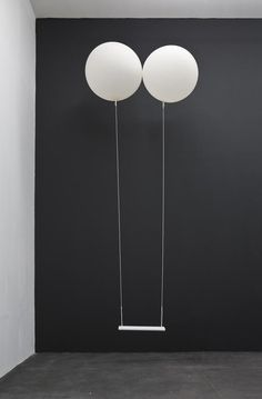 Enjoying This #visual #white #black #balloon #art #metaphora