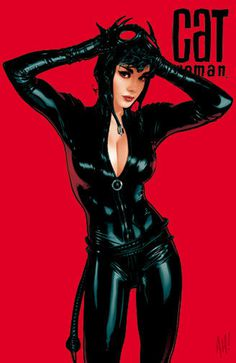 Catwomen 70 by AdamHughes on deviantART #batman #catwoman