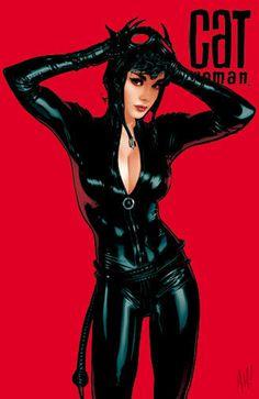 Catwomen 70 by AdamHughes on deviantART #catwoman #batman