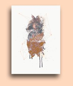 ● LYNX POSTER / on Behance #vector #biro #fineart #design #head #drawing #graphic #illustration #handmade #poster #quotation #lynx #symmetry #watercolor #animal #typography