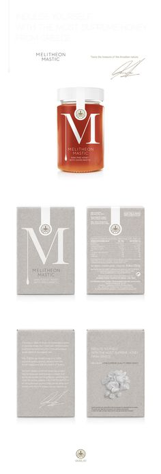 Melitheon Mastic Honey on Behance