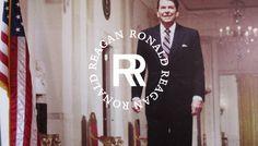 Fortieth President: Ronald Reagan (1981-1989) #presidents #design #branding