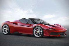 Ferrari Unveils Its Japan-exclusive J50 #Ferrari #FerrariJ50 #Japan