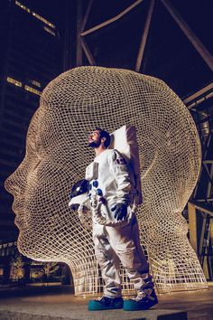 Storytelling Series About an Astronaut Loving Life My Modern Metropolis #space