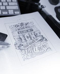 Elegant Typography Design Inspirations #typography #font style #design art