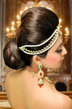 Photogenic Indian Puff Juda - juda hairstyle