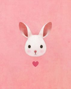 Heart on Behance #bunny