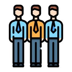 See more icon inspiration related to member, group, team member, business and finance, network, team, working, networking, business, connection, people and link on Flaticon.