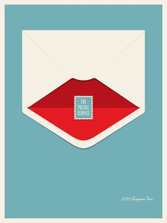 JasonMunn_ThePostalService_01 #small #gig #print #screen #stakes #poster