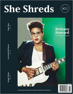 #sheshreds #magazine #cover #music #guitar