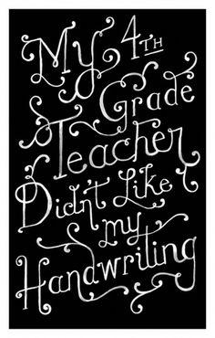 penmanship - Danielle Kroll #danielle #kroll #script #typography