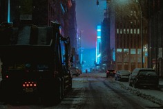 Moody and Cinematic Street Photography in New York by Alex Fernández