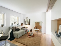 San Esteban Apartment Renovated by David Olmos Arquitectos, living room