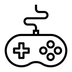 See more icon inspiration related to joystick, gamepad, gamer, multimedia, entertainment, gaming, video game, game controller, computer, hobbies and free time, electronic and technology on Flaticon.