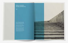 SZ Developments Brochure #layout #minimal #typography