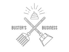 Busters Business Vince Salpietro #simple #illustration