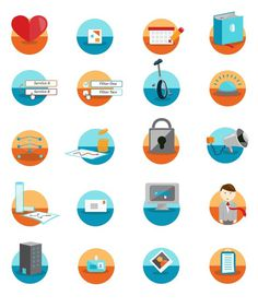 Business Pulse Illustration #icon #illustration #design #vector