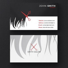 Hair salon business card Free Psd. See more inspiration related to Background, Logo, Business card, Business, Vintage, Abstract, Card, Icon, Template, Office, Visiting card, Hair, Beauty, Retro, Presentation, Shop, Sign, Barber, Stationery, Elegant, Corporate, Company, Modern, Branding, Visit card, Scissors, Salon, Hairdresser, Identity, Mustache, Brand, Hairstyle, Barbershop, Cut, Haircut, Set, Equipment and Stylist on Freepik.