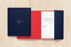 The Yachtsetter by Anagrama #print #graphic design #stationary #folder