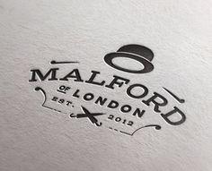 Letter Press Mock -- pressed #logo #design #graphic #retro