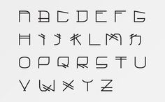 Tengu Type #japan #lettering #serif #san #custom #type #tengu #typography