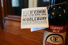 Middlebury, Vermont | Tag Detail #middlebury #challenge #design #vermont #brown #john #aiga
