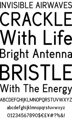 Profonts - Bureau #font #typeface