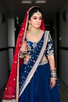Lehenga Color Combination for bridesmaid