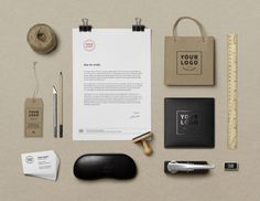 free mock-up branding #branding #mockup #psd #free #photoshop #identity #logo