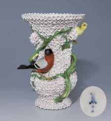 Snow Bales Vase. MEISSEN 1815-1820, first choice, #Sets #Teasets #Porcelainsets #Antiqueplates #Plates #Wallplates #Figures #Porcelainfigurines #porcelain