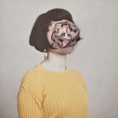 Buamai Cosmic Surgery Haser.org #paper #face #photography #geometry