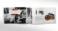 Indian Motorcycle - Brand Campaign Concept #branding #print #motorcycles #indian #distressed #soulek #sam #brochure