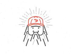 Bubba Gump Shrimp #mac #gump #forrest #kyle #illustration #bubba #mrkylemac #mr #shrimp
