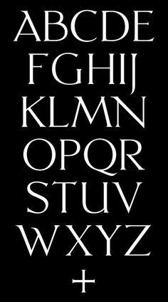 David Rudnick — Petrus #typeface #typography