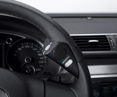 Steering Wheel Mount Bluetooth Speakerphone #bluetooth #spaker #gadget