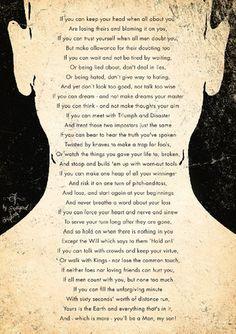 IF, Rudyard Kipling poster Futura 1