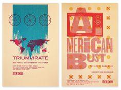 tugboat gallery : justin kemerling, designer #design #screen #illustration #printing #poster #typography