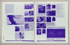Avenue : Annik Troxler #grid #layout #magazine