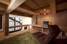 House in Shimomaruko by atelier HAKO architects #modern #design #minimalism #minimal #leibal #minimalist