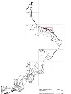 GIS mapping project - Coastline Oman
