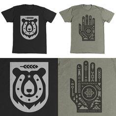 Doublenaut_newshirts #bear #doublenaut #hand #shapes