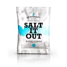 Behance :: Editing QUINTIN&CO CRISPS // Branding