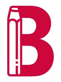 Brignolo Falegnameria #red #pictogram #branding #icon #logo #pencil
