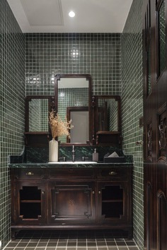 bathroom, QSY Interior Design Office