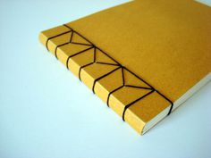 Feeling Bookish 2010: Jen Wilkes Hemp Leaf Binding #binding