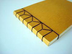 Feeling Bookish 2010: Jen Wilkes Hemp Leaf Binding #binding