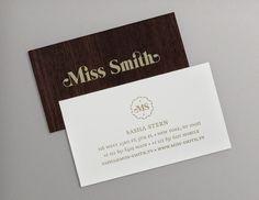 Craig Duffney | Miss Smith #type #woodgrain #wood #typography
